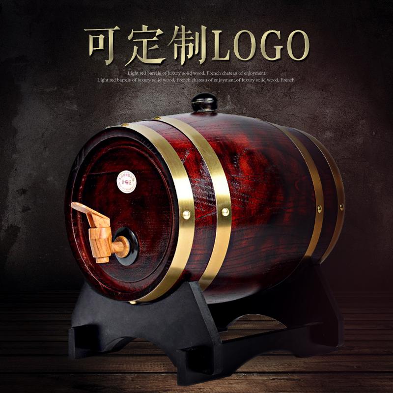 Дуб баррель ликер баррель 5L10L20 литровый домой самолично вино вино баррель вино в бутылках украшения дерево депозит ликер наряд ликер