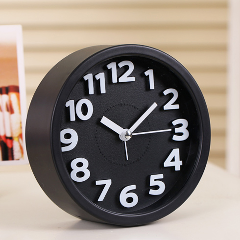 Шаг ваш творческий немой будильник бездельник студент дети будильник шумный стол спальня прикроватный электронный часы сиденье колокол