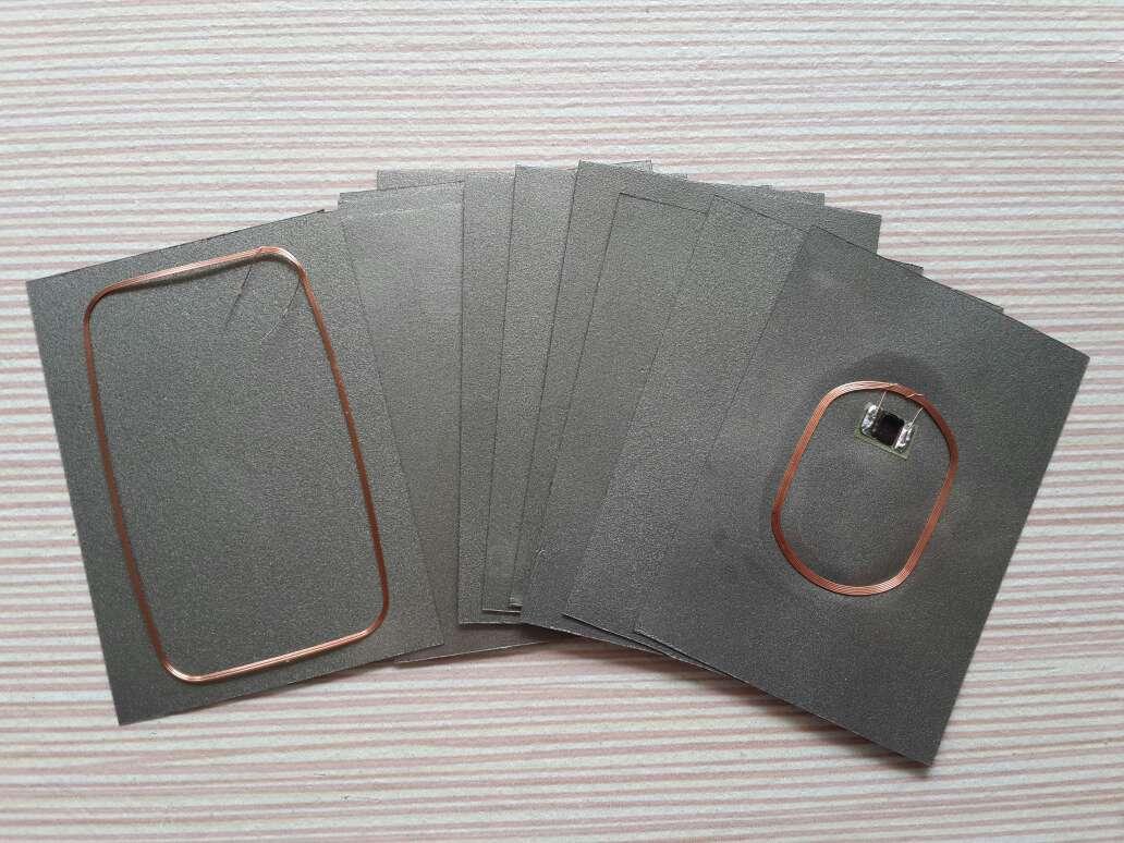 手机公交卡改装防磁贴 抗干扰防磁吸波片超薄通用版 尺寸可自定义
