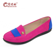 Long Ruixiang new old Beijing cloth shoes women's shoes flat shoes in the spring young European fashion casual shoes