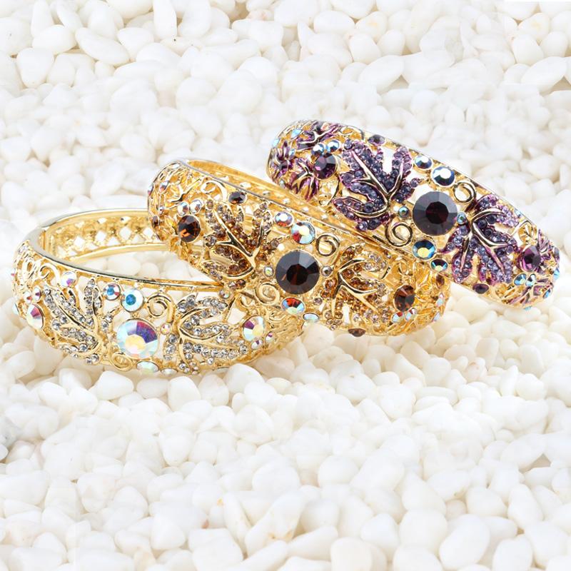 Handcraft Bracelet decoration wire pinching Enamel Cloisonne old goods Bracelet palace fashion womens gold plated bracelet special price