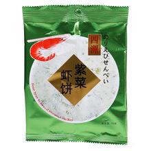 四洲紫菜虾饼15g薄饼虾饼脆饼膨化食品 儿童香脆饼干