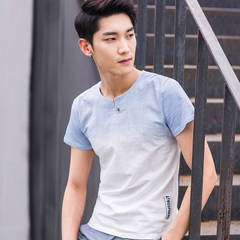 夏季短袖T恤男 D207-9813-P45