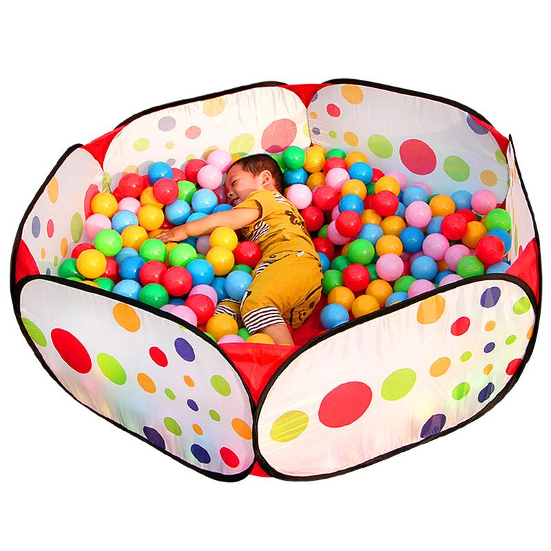 海洋球球池波波球投籃球池寶寶玩具球彩色球兒童帳篷遊戲屋