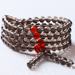 Rare natural red agate Bead Bracelet with high ice Obsidian across women and men friends welfare seconds
