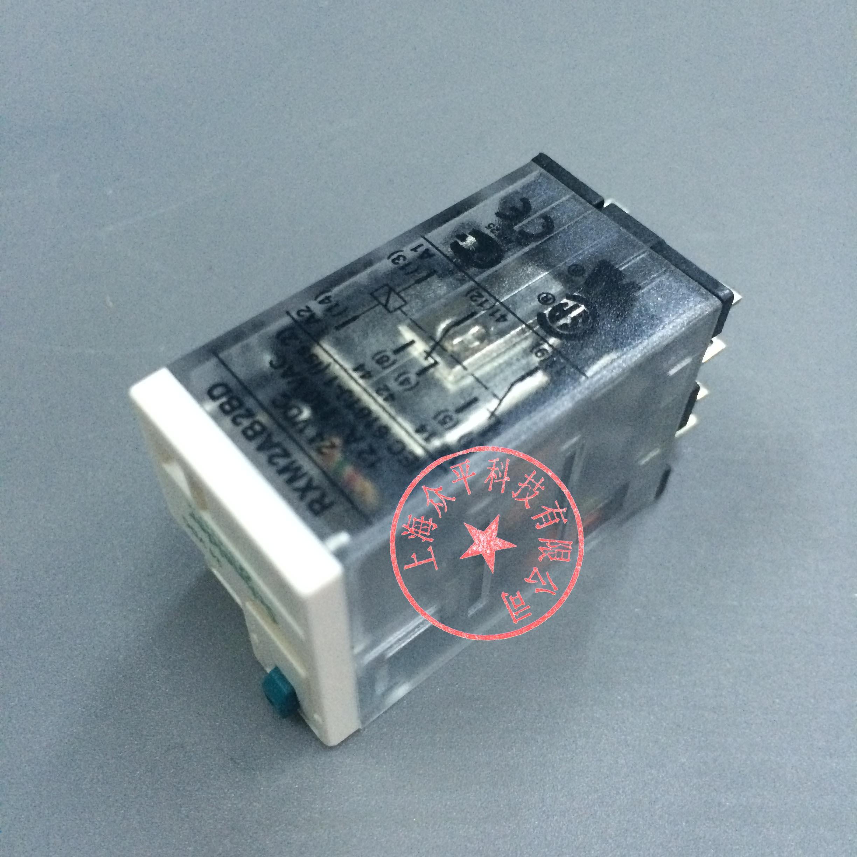 [工博士]RXM4AB2B7 6A AC24V 小型中间继电器