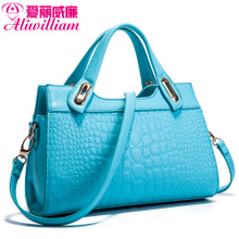 Ellie William crocodile grain to Europe and the United States the new fashion female package tide female bag bag bag, single shoulder bag