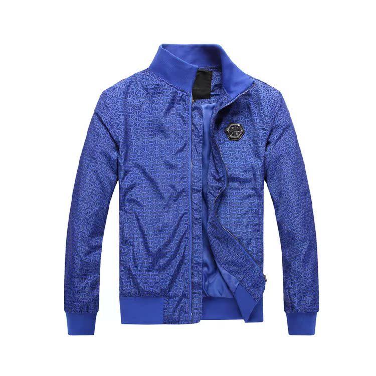 2015 череп PP Германии Мужская куртка балахон PP мигает тонкий красивый Филипп пальто