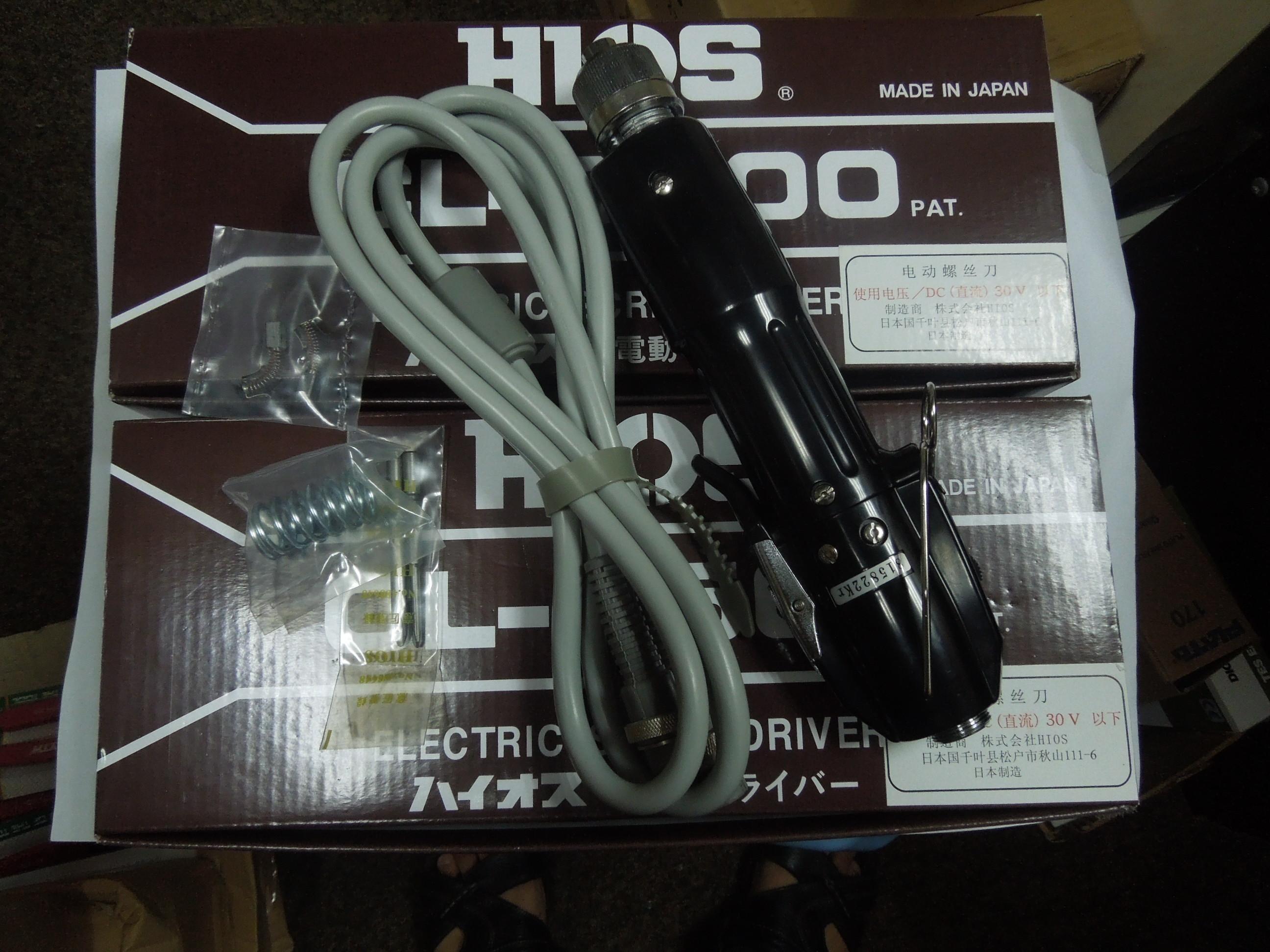 6500新款HIOS电动螺丝CL-6500/好握速电批/HIOS CL-6500电批 改锥