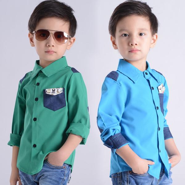 Z-mail распродажа скидки мальчиков длинный рукав блузки рубашки 3-6