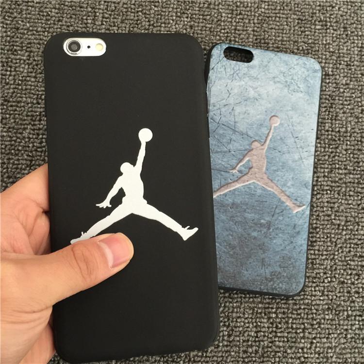 苹果iphone6plus手机壳6s篮球NBA乔丹 X软壳7plus保护套 5se外壳8