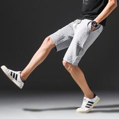 2017新款社会小伙休闲五分裤中裤63%棉 37%涤纶 A055-K21-P35