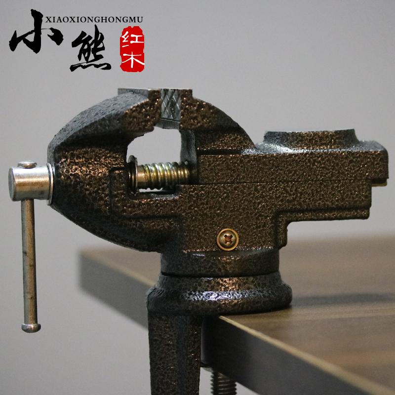 DIY тайвань плоскогубцы тайвань тигр плоскогубцы мини стол использование тайвань плоскогубцы все чугун тайвань плоскогубцы может 360 градусный поворот может клип держать фиксированный инструмент