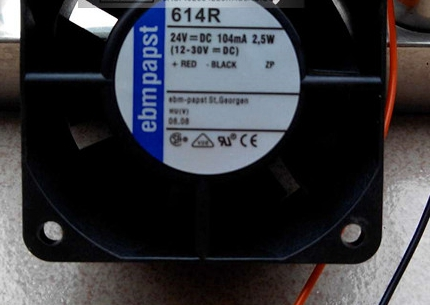 614R 24V 105MA 2.5W 原装德国ebmpapst 60*60*25 变频器轴流风扇