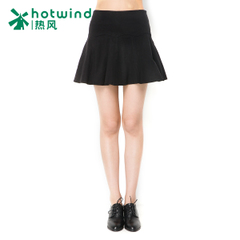 Hot spring and autumn new products women's skirts skirts the Korean version of a word woollen skirt little black dress tide 14H5701