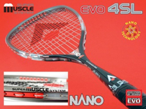 Genuine Karakal Carbon Titanium alloy Ultra Light professional professional training wall Racket EVO 4SL