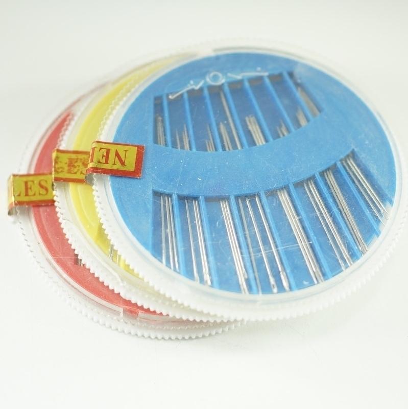 Жасмин жасмин аксессуары ручной работы должен аксессуары для волос отправить первые цветы оборудование шить игла ручной работы diy материал инструмент 1 коробка 24 игла