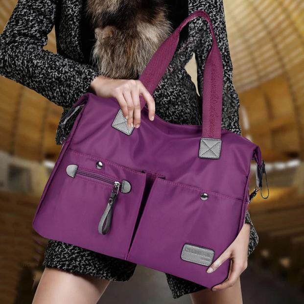 新款女包斜挎旅行包尼龙三用包防水牛津布包单肩手提包斜跨大包包