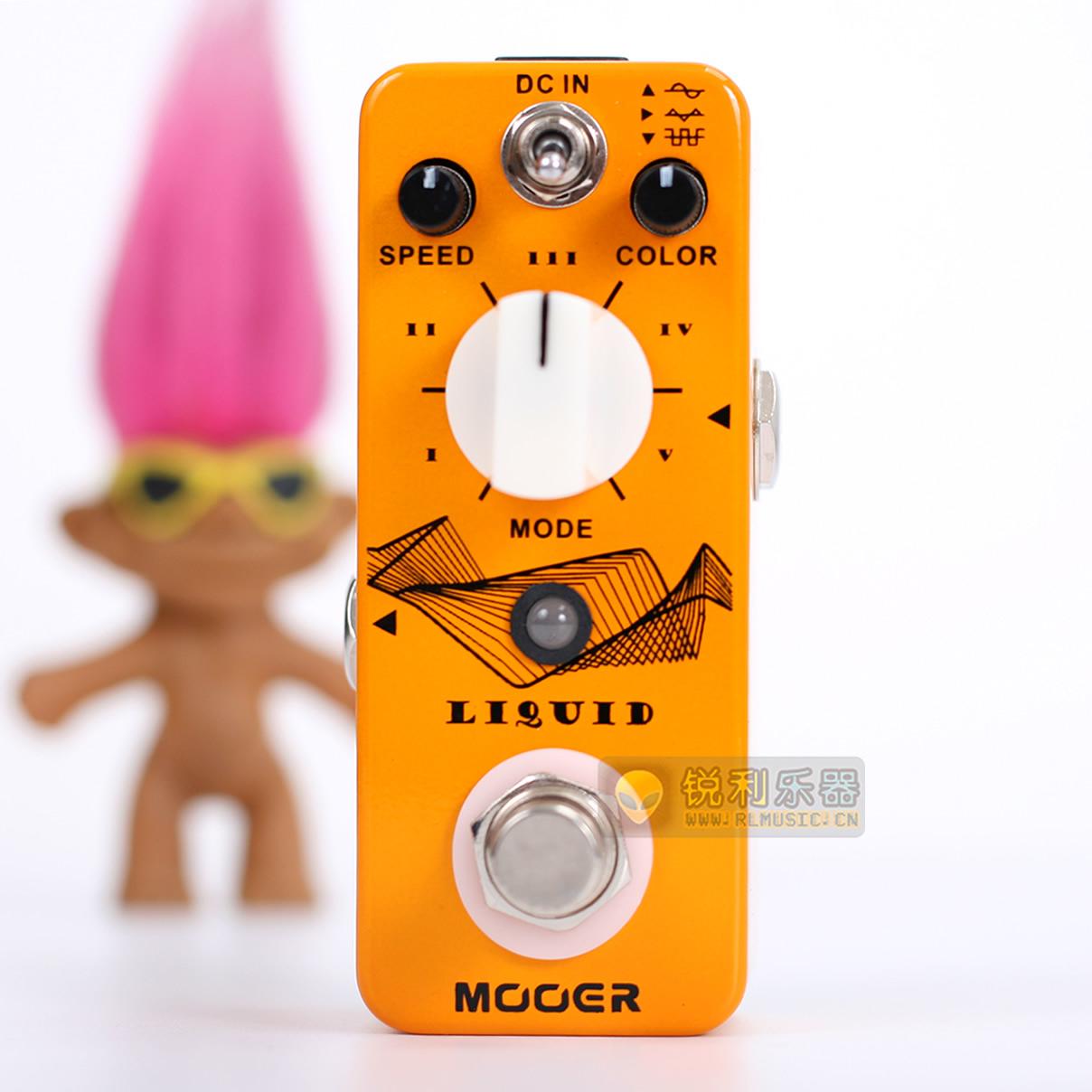 【Mooer Liquid】魔耳五模式相位 数字移相效果器【锐利乐器】