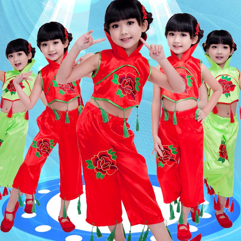 兒童民族女童幼兒舞蹈服