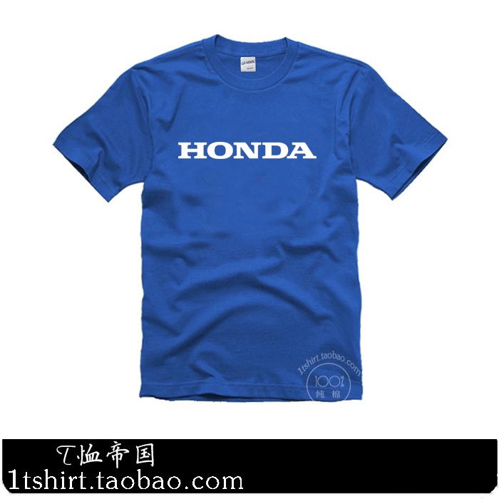 Летом новый автомобиль Honda HONDA хлопок короткий рукав футболки над 120 пакет почты