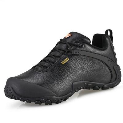 春秋运动鞋男鞋真皮防水溯溪鞋透气防滑户外徒步登山鞋越野男女鞋