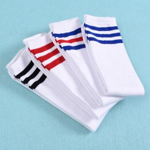 啦啦队袜啦啦队队服街舞袜演出服袜子啦啦操长筒袜儿童拉拉队袜子