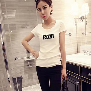 008#印花t恤女短袖