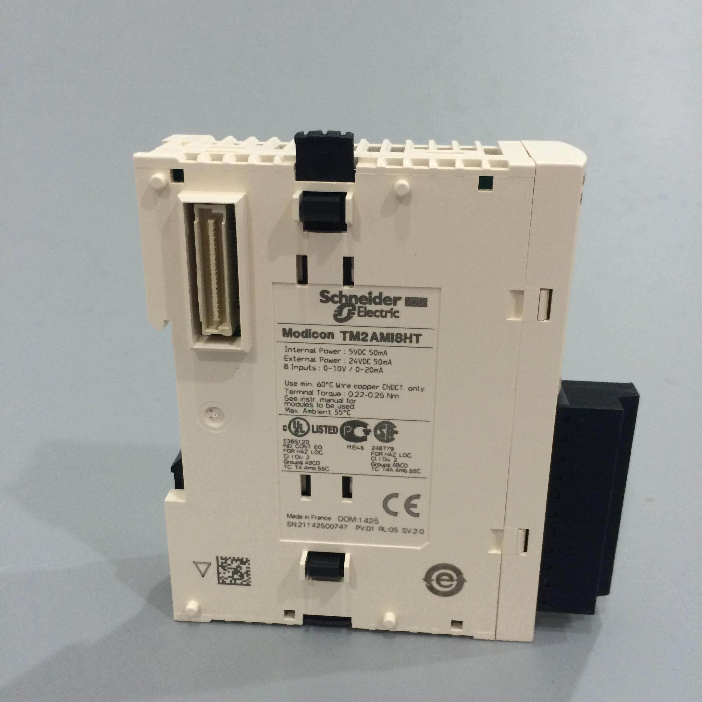 施耐德可編程控制器 TM2DAI8DT 擴展模塊 8點AC輸入  預定!