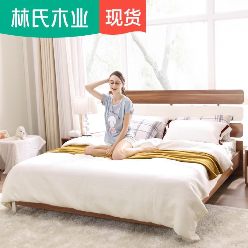 Лес клан дерево промышленность простой современный 1.8 3м лист людская кровать господь спальня полный мебель установите CP4A-A