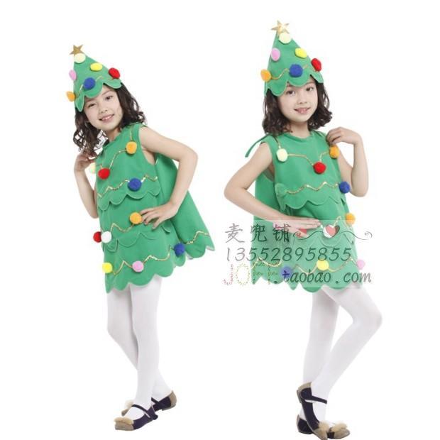 Хэллоуин одежда ребенок cos деревья одежда производительность одежда производительность одежда елки одежда деревья одежда