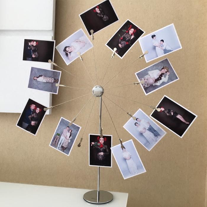 创意相架相片树照片架相框摆台照片展示架装饰品摆件结婚生日礼物