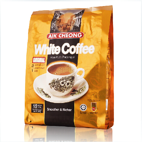 Yichang old street instant white coffee powder imported from Malaysia, original flavor 3 in 1 15 * 40g, pack 600g