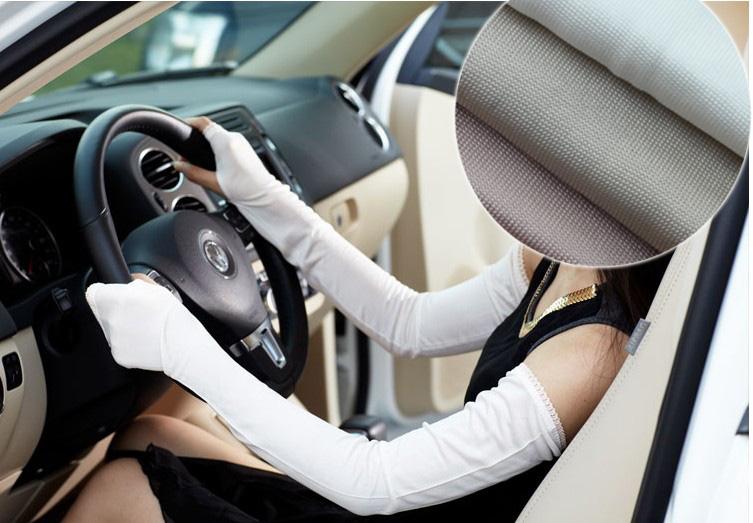 Солнцезащитный крем шелк рукава шелк длинный рукав перчатки 100% шелк воздухопроницаемый защита от ультрафиолетовых лучей