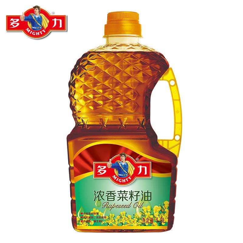 ~天貓超市~多力 濃香菜籽油 1.8L 非轉基因 壓榨四級 食用油