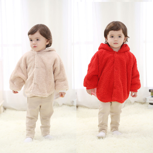 Clearance children baby cloak cape coat thick cloak cloak newborn baby bear modeling clothes