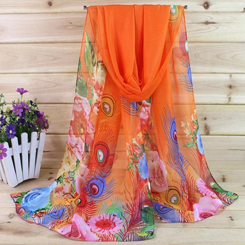 Женские шарфы из шифона Артикул 555007638163