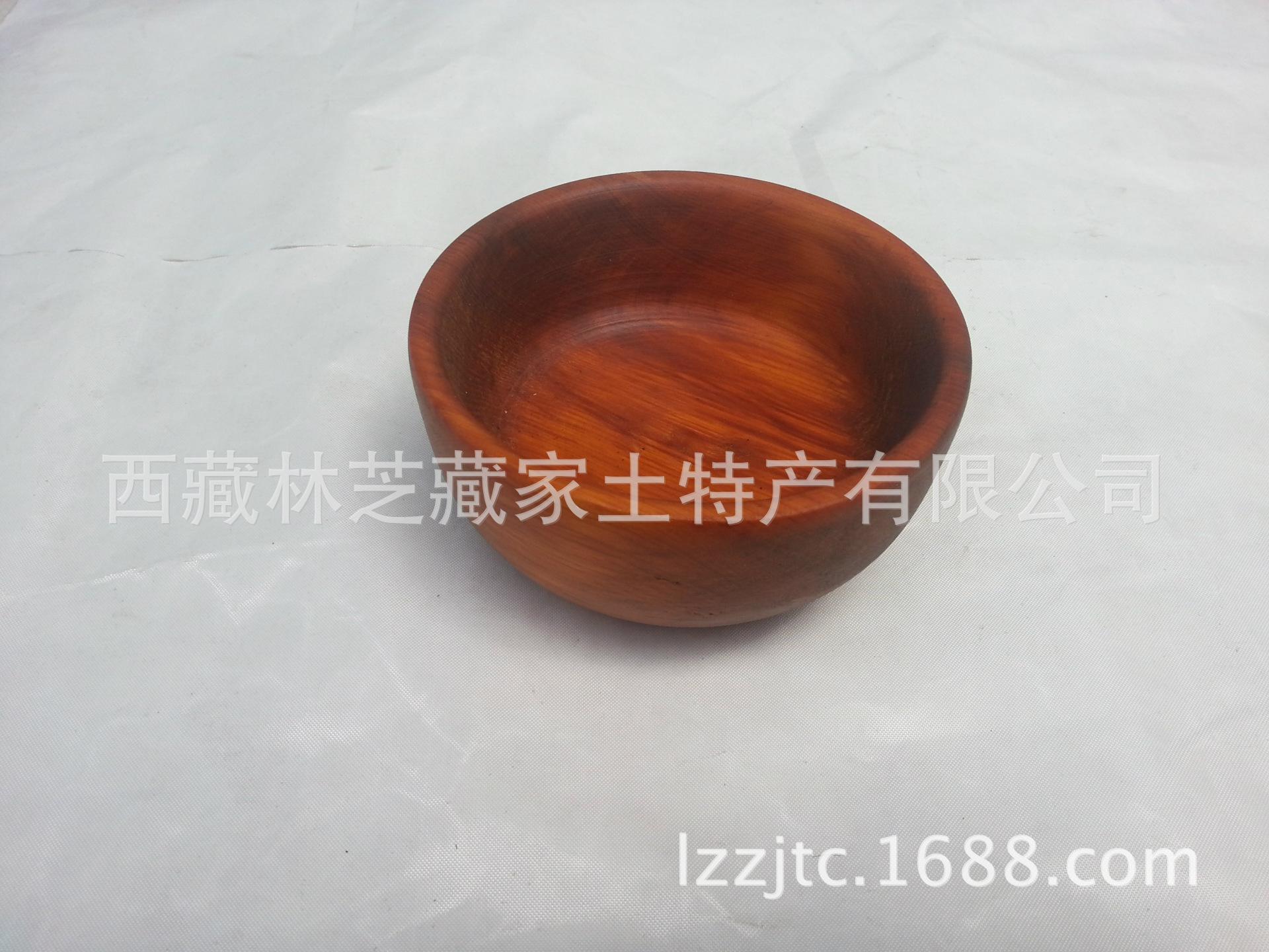 Профессиональное предложение традиционных деревянных чаш в Тибете. Великолепное мастерство и изысканные деревянные миски
