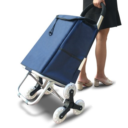 Luggage Cart RUJIALE RJL-LHJ01 Folding Portable Trolley Bag Can Pull Up The Stairs