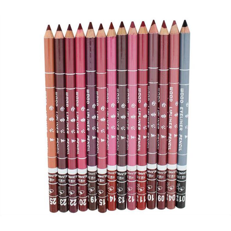Живопись губа белоснежка губа линия ручки карандаш для глаз не угасает живопись губа линия губа карандаш крем водонепроницаемый телесный цвет 12 mail
