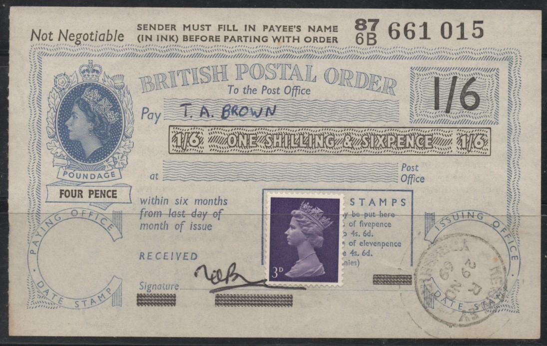 Великобритания почтовый обмен билет , ирак лиза белая женщина король , завод цветы цветы , Daji \ хризантема или большой прекрасный цветок 9