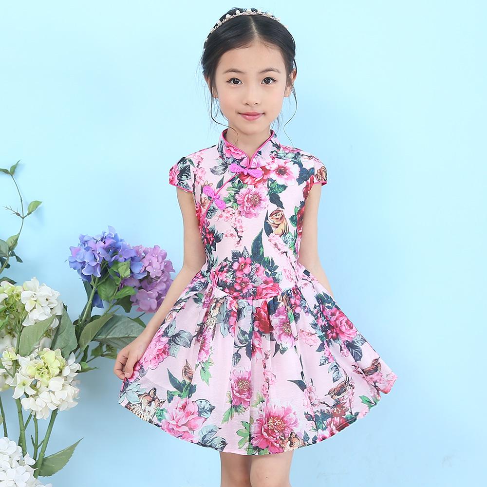 4女童連衣裙夏5 女夏裝2017女童裙子6兒童公主裙7蓬蓬裙8歲