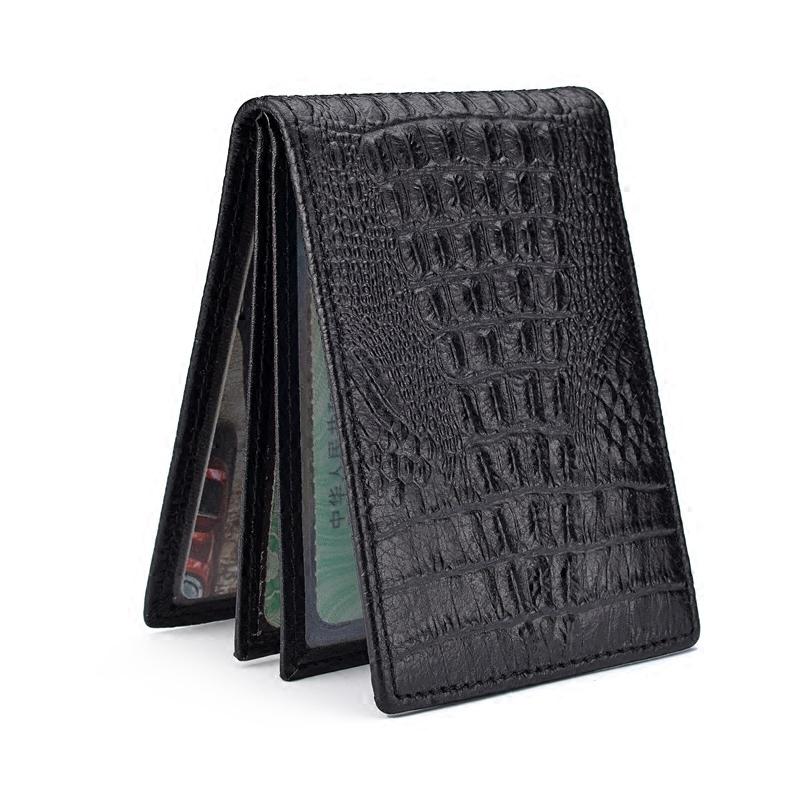 真皮驾驶证皮套男行驶证卡套多功能证件卡包小巧鳄鱼纹驾照夹本女