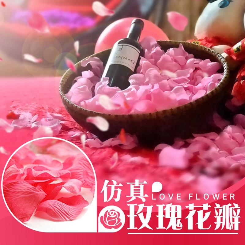 Роз клапан свадьба моделирование лепесток посыпать цветок брак дом ткань положить фотография реквизит предлагать кровать день рождения сказать белый статьи