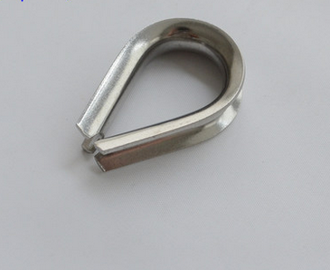 304 stainless steel ring steel wire rope protection ring chicken heart ring boast triangle ring 10mm