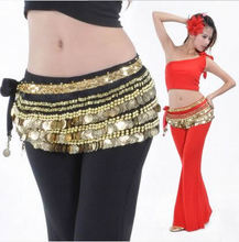 Belly dance waist chain original 338 COINS COINS Indian dance clothing suits on sale