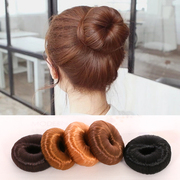 Know Connie hair accessories hair wig Korean version of the sweet bud sweet Meatball head package header tool