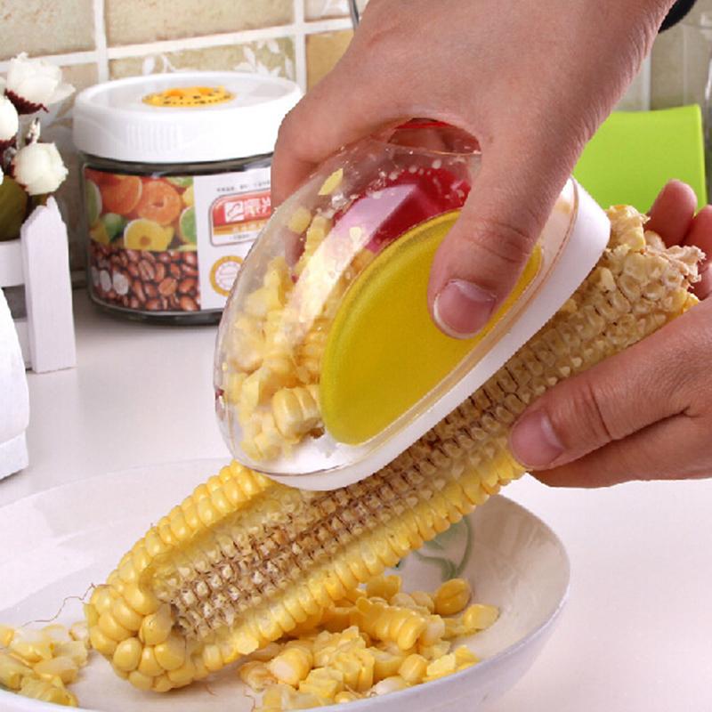 德立 剥玉米器 削玉米器 便利玉米刨 脱玉米器 厨房小工具