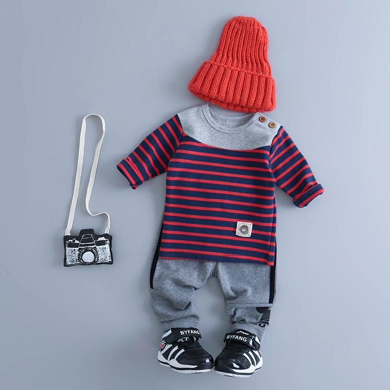 嬰兒春秋男童女寶寶打底衫