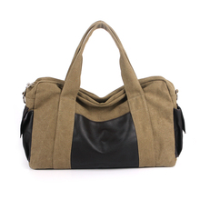 Bag spring/summer 2014 collection men shoulder bag canvas bag bag male students BaoChao bag bag